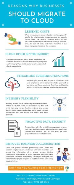 Why Should a Business Migrate to the Cloud?