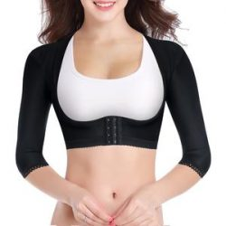 Seamless Compression Upper Arm Shaper For Women – Nebility