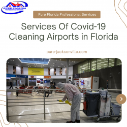 Services Of COVID-19 Cleaning Airports in Florida