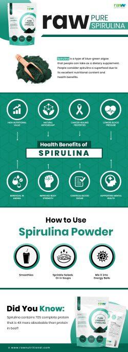 Amazing Health Benefits of Organic Spirulina