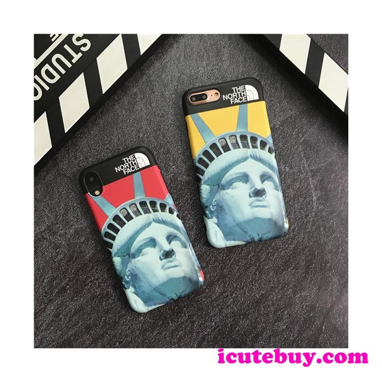 自由の女神像 iPhone11 Proケース The North Face iPhone11ケース ノースフェイス iPhoneXS XR 8 8Plus ...