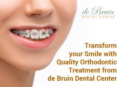Transform your Smile with Quality Orthodontic Treatment from de Bruin Dental Center
