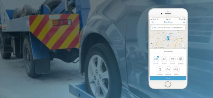 Uber For Tow Trucks App – Get Roadside Assistance On Demand