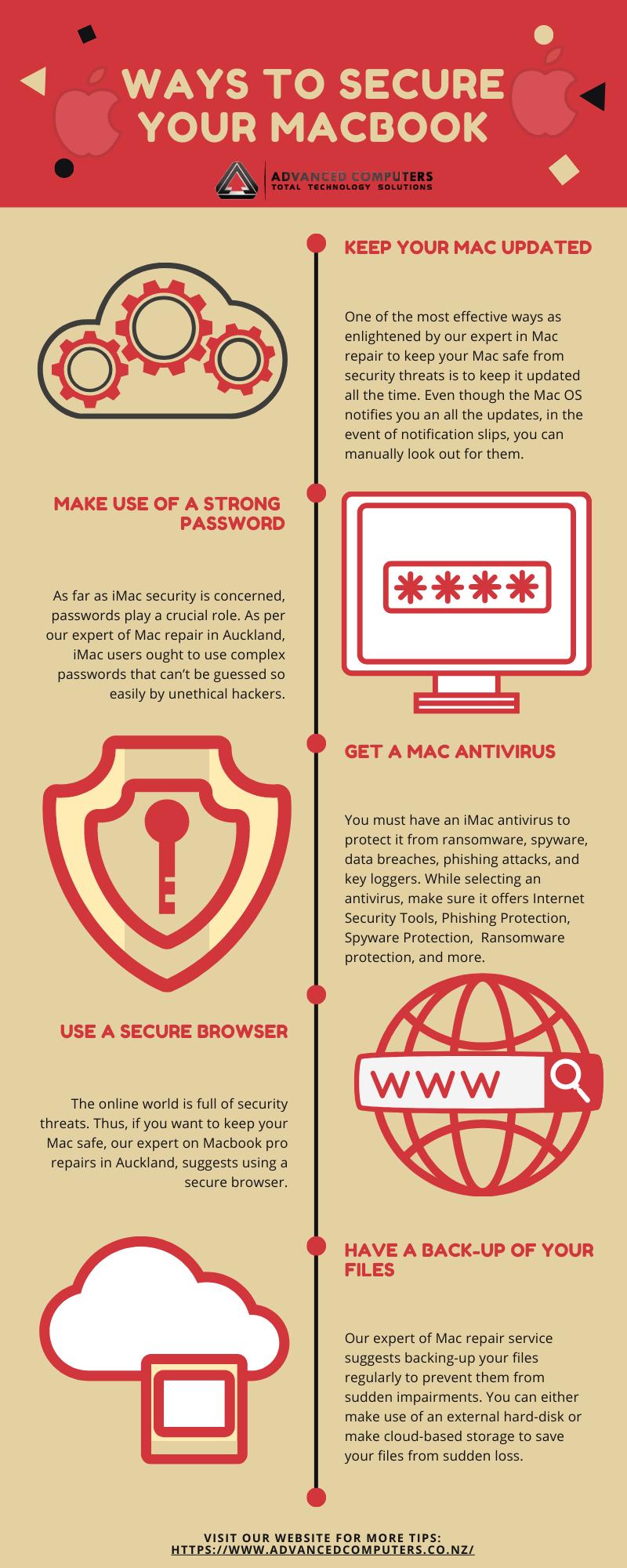 Ways to Secure your MacBook