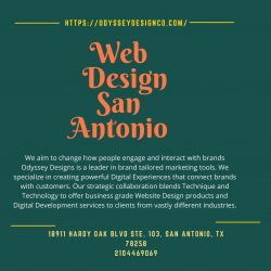 Web Design San Antonio – Odyssey Design Co