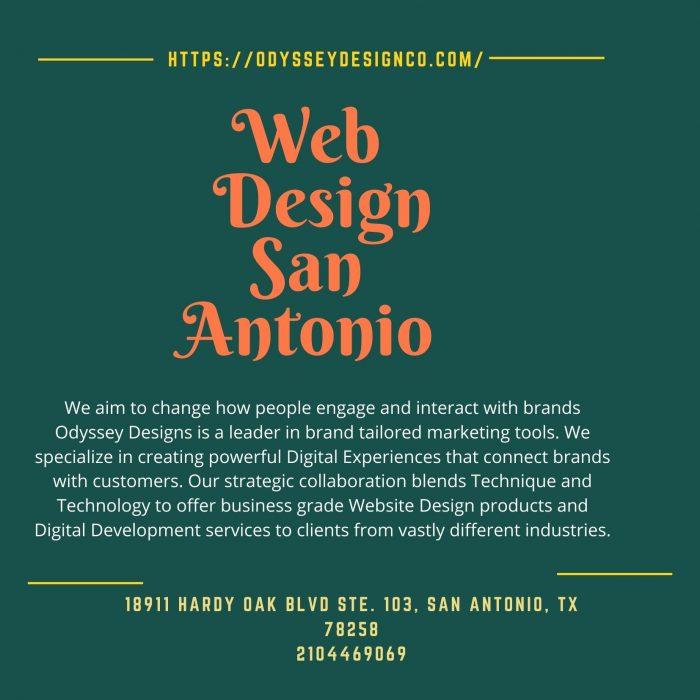 Web Design San Antonio – Odyssey Design Co