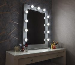 Hollywood Iconic Tall Vanity Mirror L