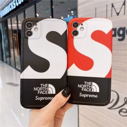 シュプリーム the north face iphone 12/12miniケース メンズ かっこいい Supreme アイフォン12Pro Max ...