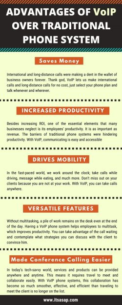 Advantages Of VoIP Over Traditional Phone System