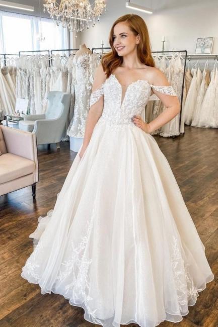 Moderne Hochzeitskleid A Linie | Brautkleider Günstig Online