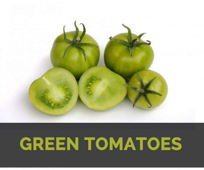 Benefits of Green Tomatoes | John Deschauer