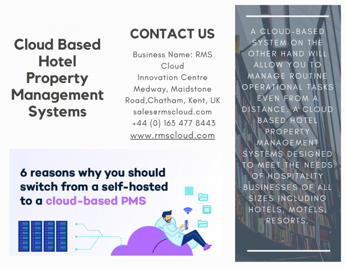 Cloud Based Hotel Property Management Systems