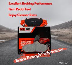 Buy Semi-Metallic Brake Pads