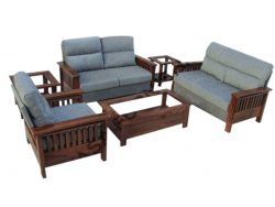 Wooden Settee | Designer Sofa Set | Sheesham Wood | Casa furnishing