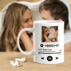 Custom Mug Spotify Code Mug Photo Mug
