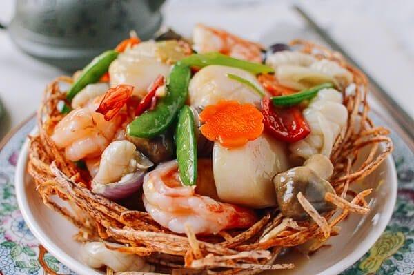 Chinese Seafood Bird Nest