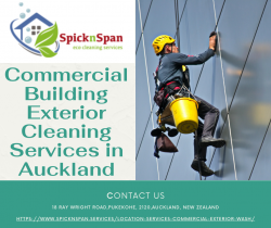 Commercial Building Exterior Cleaning Services in Auckland