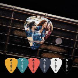Scannable Spotify Music Code Guitar Pick 12Pcs Green