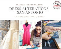 """""""Dress Alterations San Antonio – Sunny's Alteration """""""