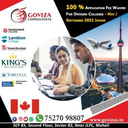 100% Application Fee Waiver in Ontario Colleges.