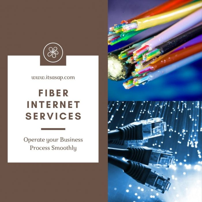 Operate your Business Process Smoothly with Fiber Internet Services