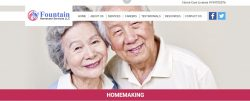 Homemaking services california