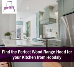 Find the Perfect Wood Range Hood for your Kitchen from Hoodsly
