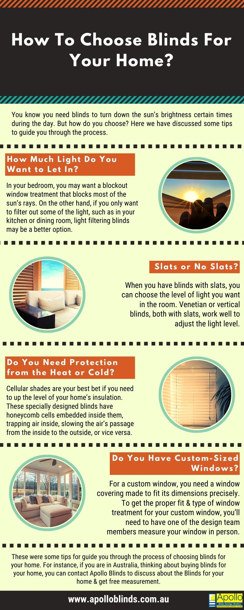 How To Choose Blinds For Your Home?