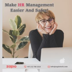 HRMS Software in Dubai | Zapio Technology
