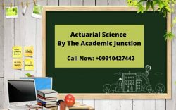 Actuarial Science Classes by The Academic Junction
