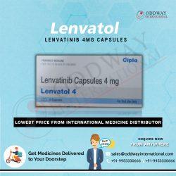 Wholesaler Of Lenvatol 4mg Lenvatinib Capsule