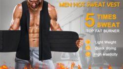 2 in 1 Men Waist Trainer Vest with Adjustable Velcro – Junlan Center