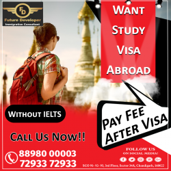 Want To Study & Settle In Abroad. Study in #Canada With IELTS 6/5.5 (in Two Module)