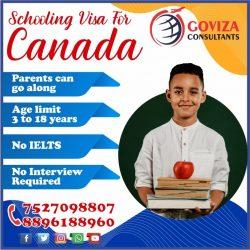 Apply #Canada #Schooling Study Visa 🎓