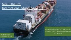 Neal Elbaum – International Shipping Agent