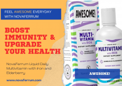 NovaFerrum Multivitamin with Iron and Elderberry to Upgrade Your Health