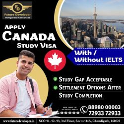 Study in Canada Study. Sure Short Study Visa (100%), With / Without IELTS.👍