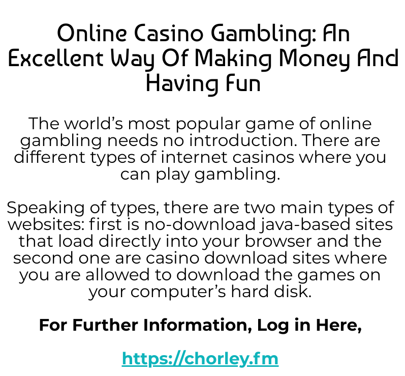 How you can make more money at online casinos