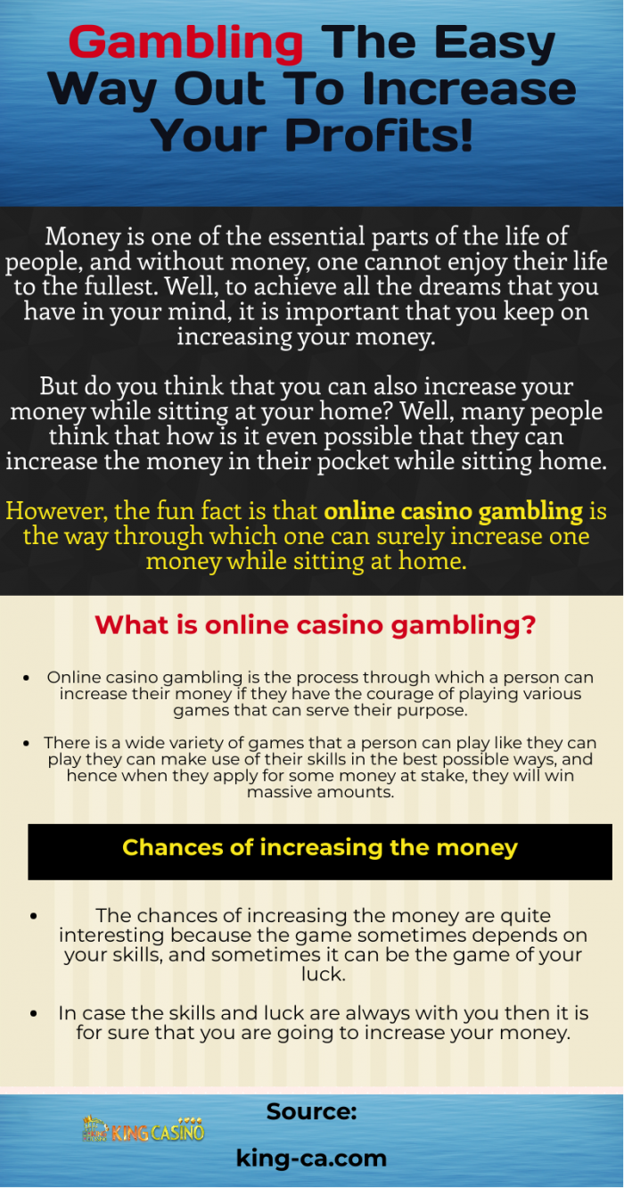 Variety of games to play in online gambling