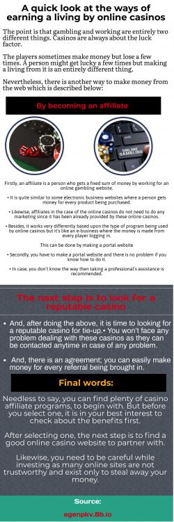 Want to earn big cash by gambling