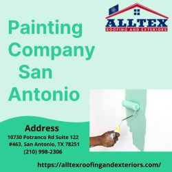 Painting Company San Antonio -All Tex Roofing and Exteriors