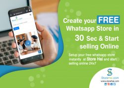 Make your own website for Free with Store Hai