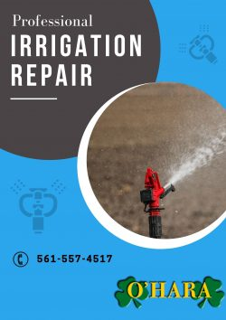 Quality Irrigation Sprinkler Repair Services