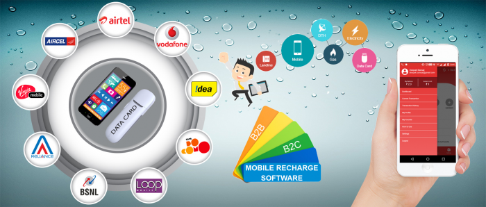 all in one recharge software