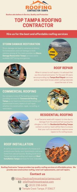 Roofing Contractor Tampa | Quality Roofers Of Tampa Bay