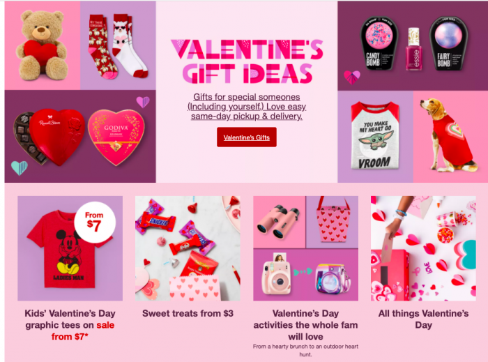 Target Valentines Day Shopping Sale and Ideas