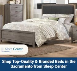 Shop Top-Quality & Branded Beds in the Sacramento from Sleep Center