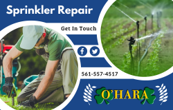 Sprinkler Repair and System Installation