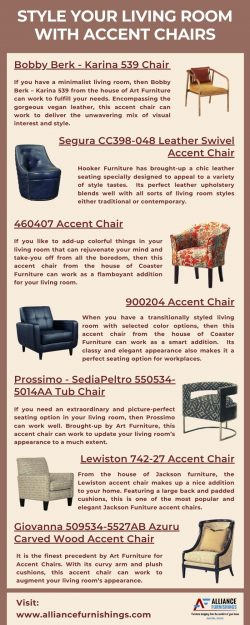 Style Your Living Room With Accent Chairs