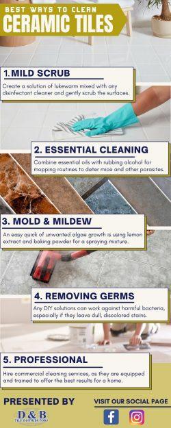 Unique Tile Cleaning Solution
